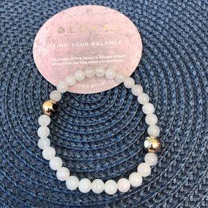 Stone and Metal Lokai bracelet